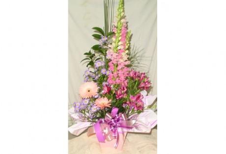 Arranjo 03 Tipos Flores