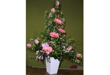 Arranjo Rosas e Gerberas